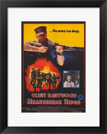 Framed Heartbreak Ridge Deep Scars Print