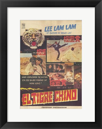 Framed Kung Fu: The Punch of Death Print