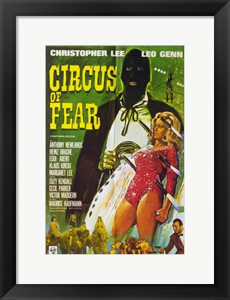 Framed Circus of Fear Print