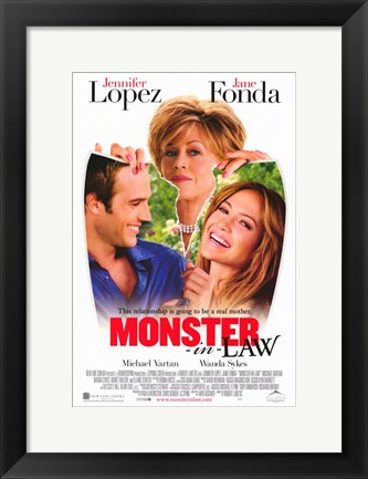 Framed Monster-in-Law Print