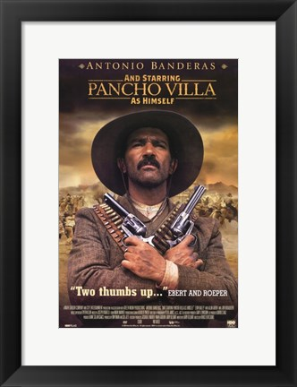 Framed And Starring Pancho Villa as Himself Print