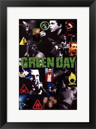 Framed Green Day Print