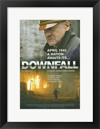 Framed Downfall Movie Print