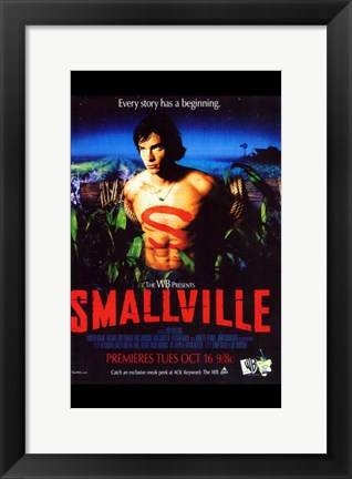 Framed Smallville - style A Print