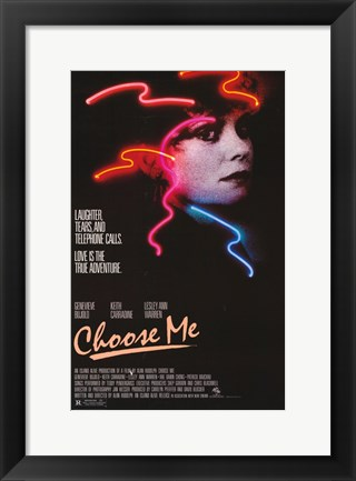 Framed Choose Me Print