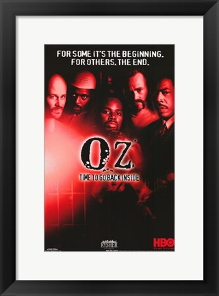 Framed Oz TV Series Print