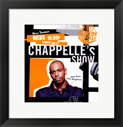 Framed Chappelle's Show Orange Print