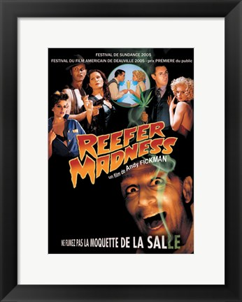 Framed Reefer Madness: The Movie Musical (French) Print