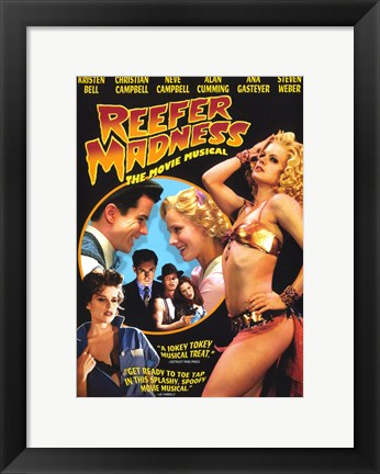 Framed Reefer Madness: The Movie Musical Kristen Bell Print