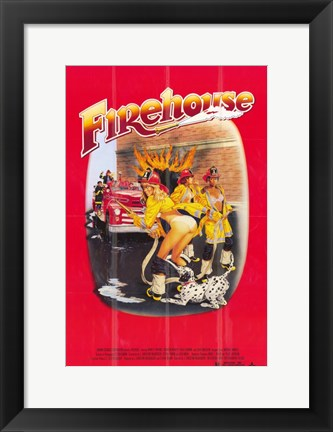 Framed Firehouse Print