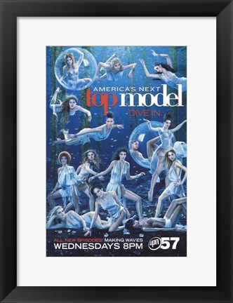 Framed America's Next Top Model - Dive in Print