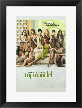 Framed America's Next Top Model - Welcome to the Glamorama Print