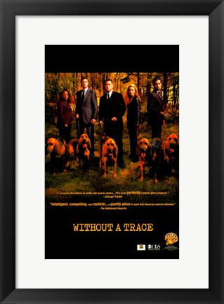 Framed Without a Trace (TV) Series Print
