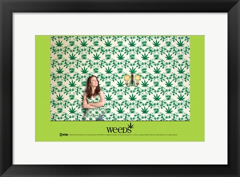 Framed Weeds (TV) Nancy Botwin Print