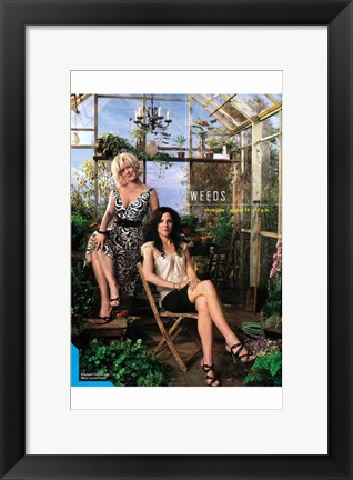 Framed Weeds (TV) Celia & Isabelle Print