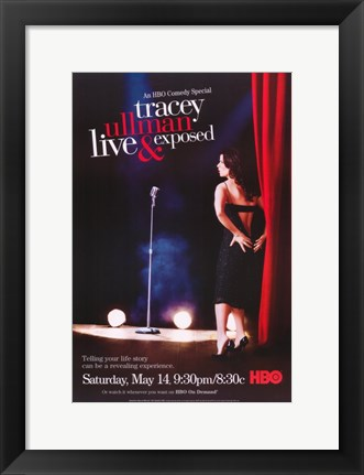 Framed Tracey Ullman: Live and Exposed Print