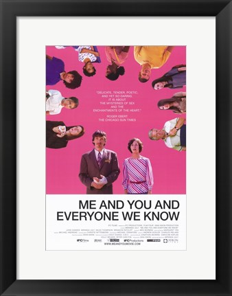 Framed Me and You and Everyone We Know Print