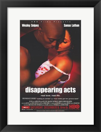 Framed Disappearing Acts Print