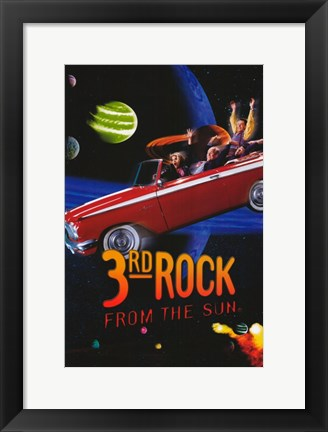 Framed 3rd Rock from the Sun Print