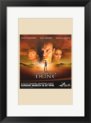 Framed Children of Dune Print