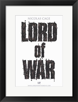 Framed Lord of War Print