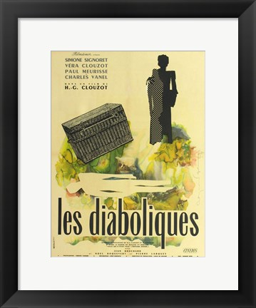 Framed Diabolique Print