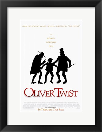 Framed Oliver Twist By Roman Polanski Print