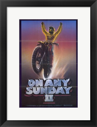 Framed On Any Sunday II Print