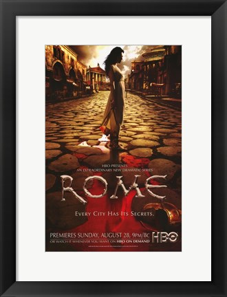 Framed Rome Polly Walker as Atia of the Julli Print