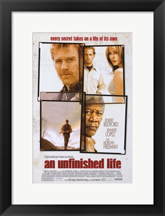 Framed Unfinished Life Print