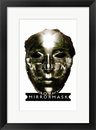 Framed MirrorMask Print