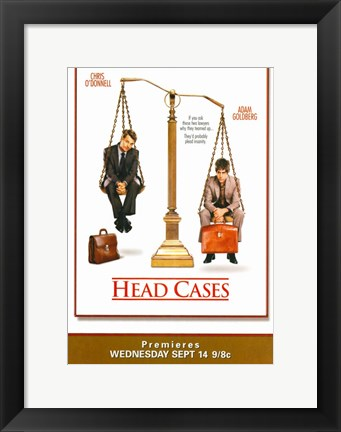 Framed Head Cases Print