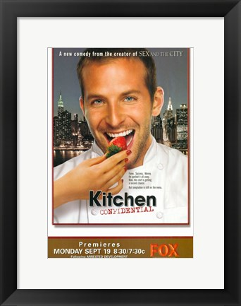 Framed Kitchen Confidential Print