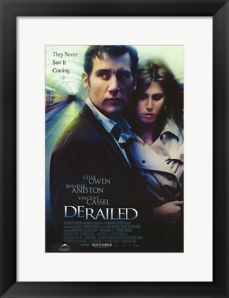 Framed Derailed Print