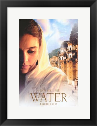 Framed Water By Deepa Mehta Print