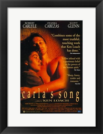 Framed Carla's Song Print
