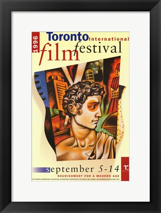 Framed Toronto International Film Festival 1996 Print