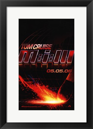 Framed Mission: Impossible III Print