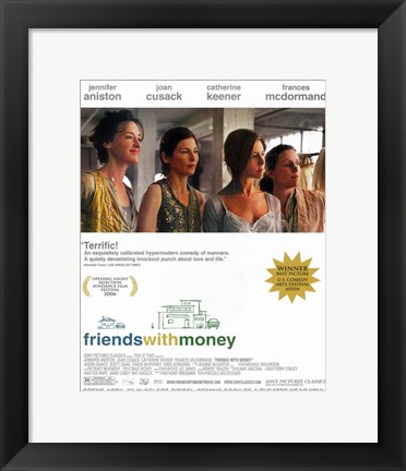 Framed Friends with Money Print