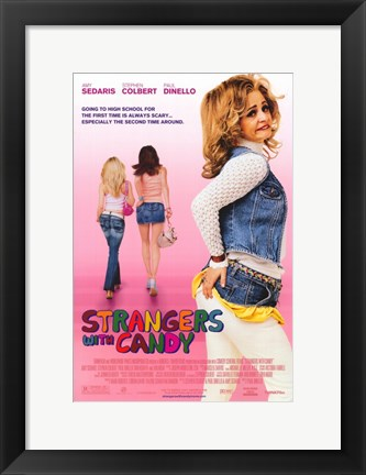 Framed Strangers with Candy Print