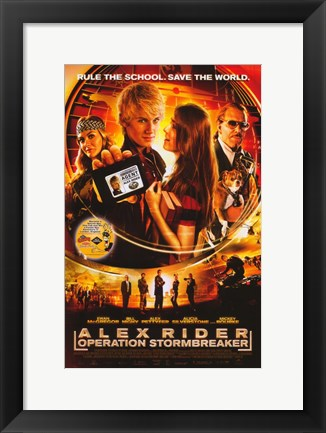 Framed Alex Rider: Operation Stormbreaker Print