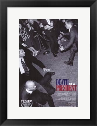 Framed Death of a President Print