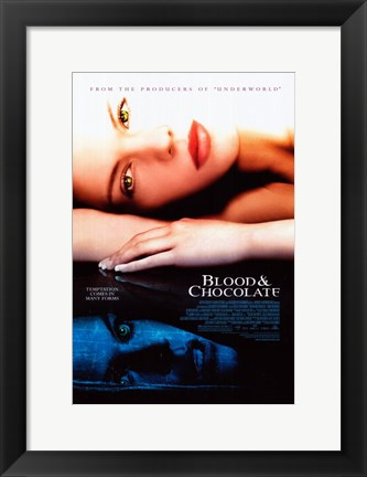 Framed Blood and Chocolate Print