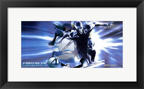 Framed Fantastic Four: Rise of the Silver Surfer - Silver Surfer Horizontal Print