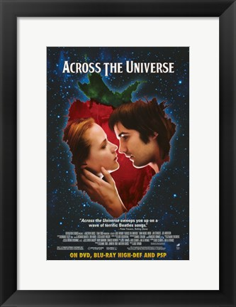Framed Across the Universe Night Sky Print