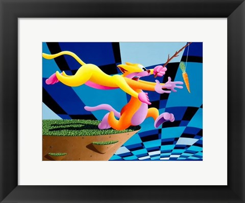 Framed Anthony Ausgang - The Way To Go Print