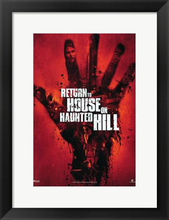 Framed Return to House on Haunted Hill Print