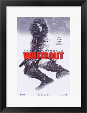 Framed Whiteout Print