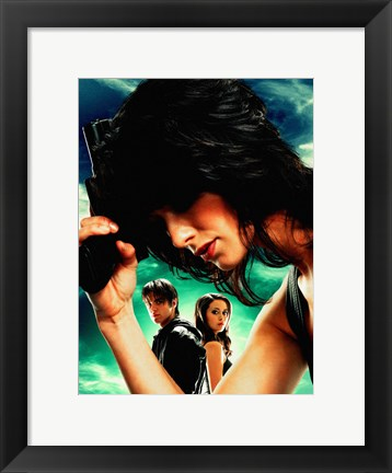 Framed Terminator: The Sarah Connor Chronicles - style M Print