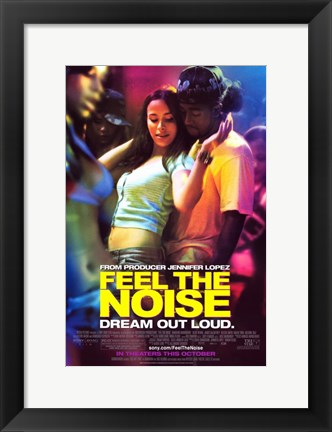 Framed Feel The Noise Print
